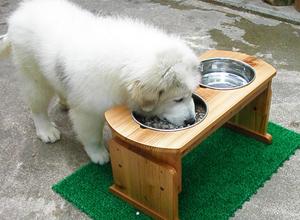 木製食器台(大型犬・中型犬用)